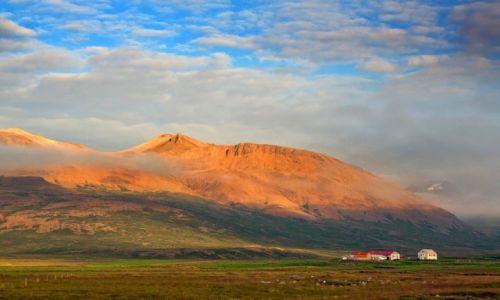 Zdjęcie ISLANDIA / Skagafjörður-Sysla / północ Islandii / Farma na północy Islandii