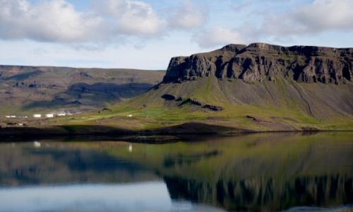 Zdjęcie ISLANDIA / zach Islandia / fiord Hvalfjörður / wokół fiordu