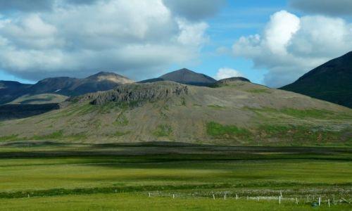 Zdjecie ISLANDIA / zachodnia Islandia / gdzieś po drodze / Islandia