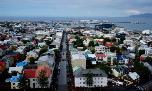 Zdjęcie ISLANDIA / zachodnia Islandia / Reykjavik / Stare miasto