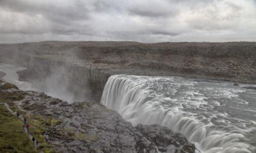 Zdjęcie ISLANDIA / Islandia północna / Islandia północna / Dettifoss
