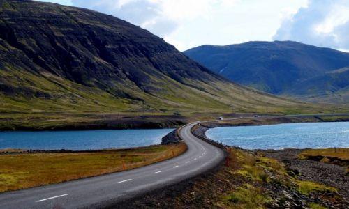 Zdjęcie ISLANDIA / zach Islandia / płw. Snaefellsnes / Droga