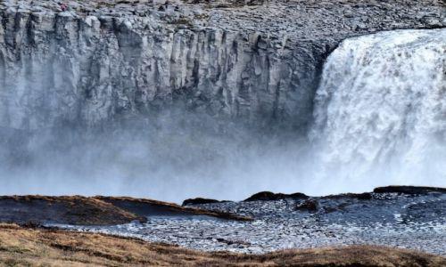 Zdjecie ISLANDIA / Północna Islandia / Park Narodowy Jokulsargljufur / Detifoss