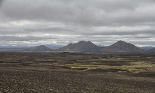 Zdjęcie ISLANDIA / Islandia wschodnia / Islandia wschodnia / Żużlowa pustynia
