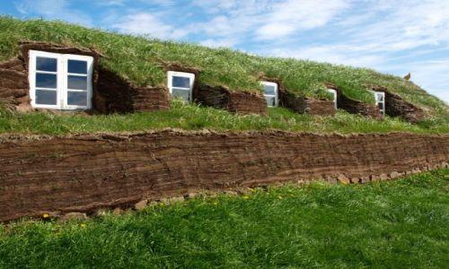 Zdjecie ISLANDIA / Północna Islandia / Glaumbar / Hobbiton