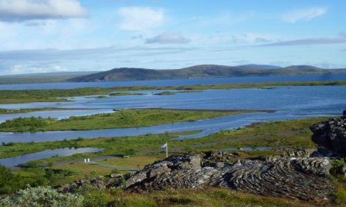 Zdjecie ISLANDIA / Park Narodowy T / Thingvellir / Islandia