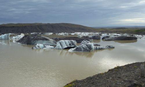 Zdjecie ISLANDIA / południe / Islandia / Lodowce Islandii