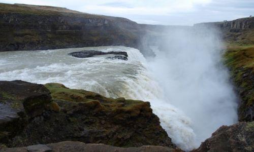 Zdjecie ISLANDIA / Południowa Islandia / - / Gullfoss ujęcie 3
