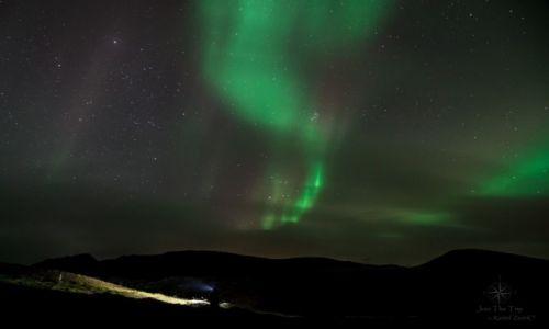Zdjecie ISLANDIA / Islandia / Islandia / Islandia- w poszukiwaniu zorzy polarnej