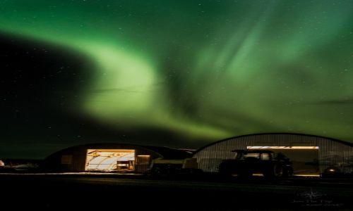 Zdj�cie ISLANDIA / Southern Iceland / Hella / Islandia- w poszukiwaniu zorzy polarnej