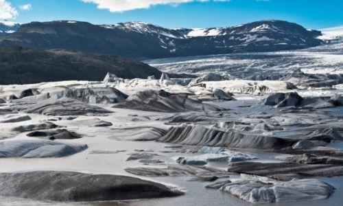 Zdj�cie ISLANDIA / - / Islandia / Lodowiec Hoffellsjokull