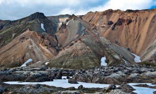 Zdj�cie ISLANDIA / - / kolorowe g�ry Islandia / Landmannalaugar