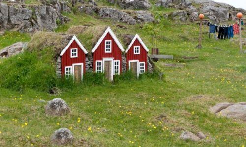 Zdjecie ISLANDIA / - / Islandia / Domki Elfów