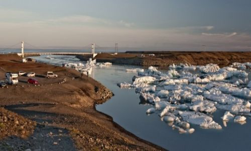 Zdjecie ISLANDIA / - / Islandia / Zatoka lodu
