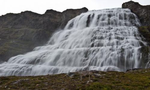 Zdjecie ISLANDIA / - / Islandia / Wodospad Dynjandi