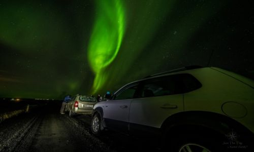 Zdj�cie ISLANDIA / Southern Iceland / Islandia / #aurorahunting