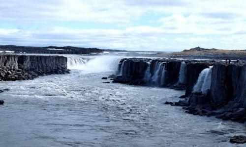 Zdj�cie ISLANDIA / P�nocna Islandia / Park Narodowy Jokulsargljufur / Selfoss uj�cie 2