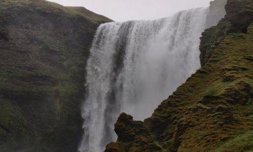 Zdj�cie ISLANDIA / Po�udniowa Islandia / - / Skogafoss uj�cie 3