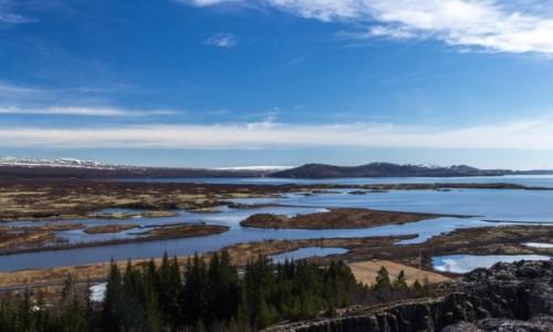 Zdjecie ISLANDIA / - / Þingvellir / Na styku 2 wiel