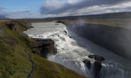 Zdjecie ISLANDIA / - / Gullfoss / Water