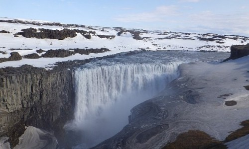 Zdjecie ISLANDIA / Islandia / Islandia / power of water