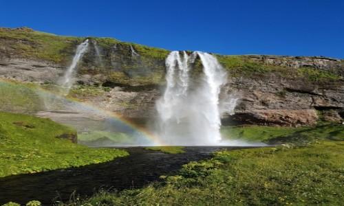 ISLANDIA / Reykiavik / Wodospady / Islandia