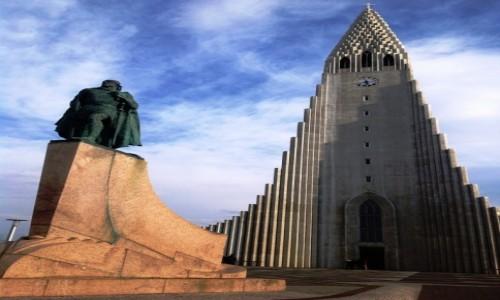 Zdjęcie ISLANDIA / Reykjavík / Reykjavík / Hallgrímskirkja