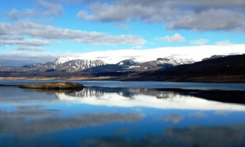 Zdjecie ISLANDIA / Islandia / Islandia / Jezioro