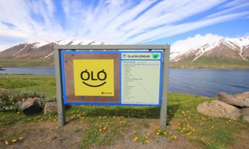 Zdjecie ISLANDIA / �lafsfj�rður / �lafsfj�rður / My tu jeszcze w