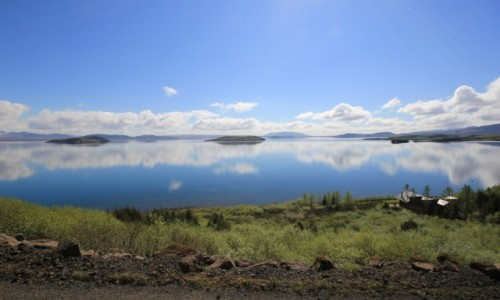 Zdjecie ISLANDIA / Sudurland / Þingvallavatn / Þingvallav