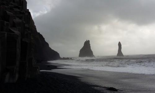 Zdjecie ISLANDIA / - / Reynisfjara Beach / Black Sand Beac