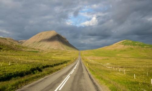 Zdjecie ISLANDIA / Półwysep Tröllaskagi / część zachodnia / Droga- marzenie