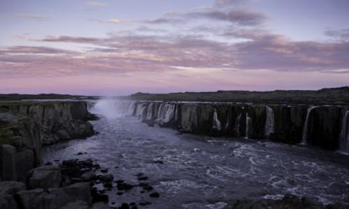 Zdjecie ISLANDIA / Północny-wschód Islandii / Rzeka Jökulsá á Fjöllum / Wodospad Selfos