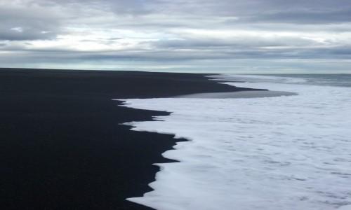 Zdjecie ISLANDIA / - / Þykkvibær / czarna plaża