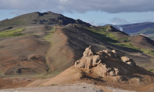 Zdjecie ISLANDIA / okolice jeziora Myvatn / Namafjall  / Trudno było ode