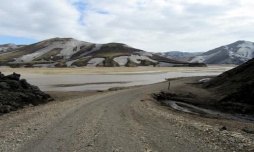 Zdjęcie ISLANDIA / PN zach. Islandia / Góry Landmannalaugar /  Magiczny Landmannalaugar