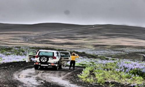 Zdjecie ISLANDIA / Islandia / Islandia / Off Road w Inte