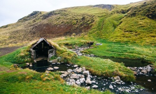 Zdjecie ISLANDIA / Islandia / Islandia / Hotspring! Zagr