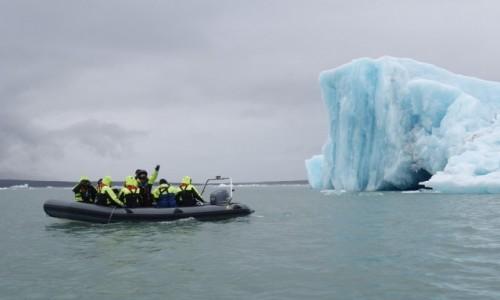 Zdjęcie ISLANDIA / Islandia / Islandia / Wyprawa ribem pod lodowiec