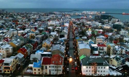 Zdjęcie ISLANDIA / Reykjanes / Reykjavik / Reykjavik po południu