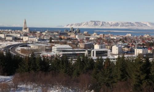 Zdjęcie ISLANDIA / Reykjavik / Perlan / Panorama