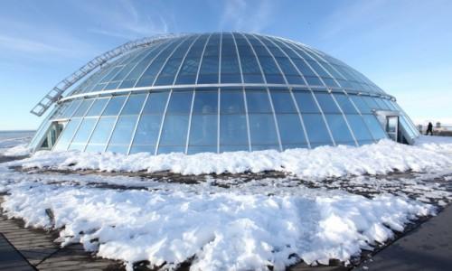 Zdjęcie ISLANDIA / Reykjavik / Perlan / Dach