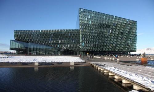 Zdjęcie ISLANDIA / Reykjavik / Port / Harpa - Concert Hall