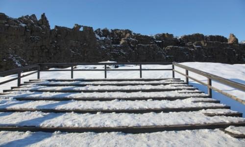 Zdjecie ISLANDIA / Park Narodowy Thingvellir  / . / Miejsce obrad pierwszego Althingu (parlamentu)