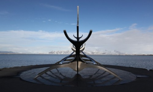 Zdjęcie ISLANDIA / Reykjavik / Downtown / Słoneczny Podróżnik