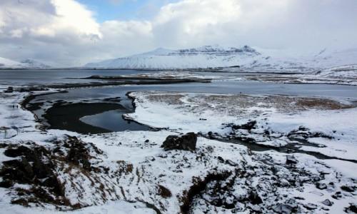 Zdjęcie ISLANDIA /  Półwysep Snæfellsnes / Grundarfjordur / Widok z Kirkjufellsfoss