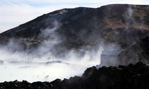 Zdjecie ISLANDIA / Półwysep Reykjanes / Grindavík / Błękitna Laguna
