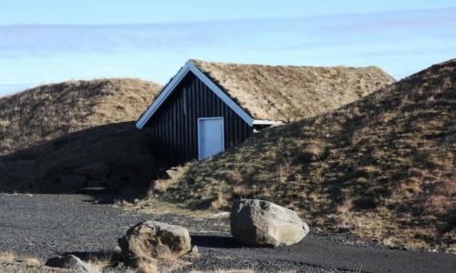Zdjecie ISLANDIA / Półwysep Reykjanes / Njardvik / Miasteczko wikingów