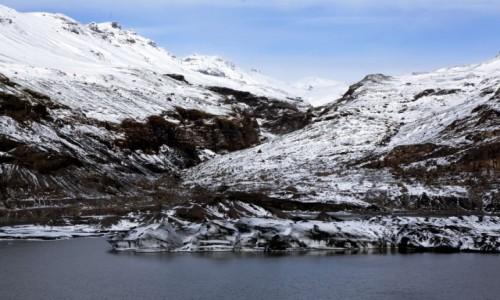 Zdjecie ISLANDIA / Południowe wybrzeże / Okolice wulkanu Katla / Pod lodowcem Mýrdalsjökull