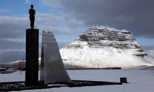 ISLANDIA / Półwysep Snæfellsnes / Grundarfjordur / Piękny widok